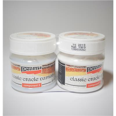 CRACKLE CLASSIC VERNISH 2-SKŁADNIKOWY PENTAR.50ML-227