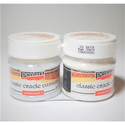 CRACKLE CLASSIC VERNISH 2-SKŁADNIKOWY PENTAR.50ML-244